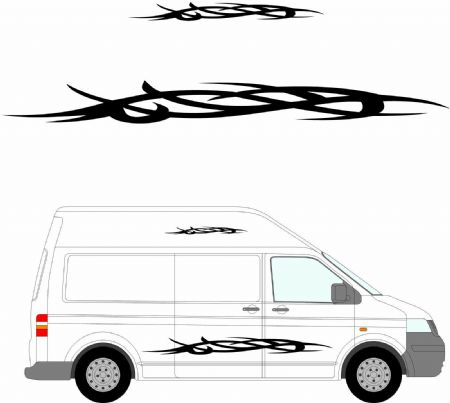 (No.154) MOTORHOME GRAPHICS STICKERS DECALS CAMPER VAN CARAVAN UNIVERSAL FITTING